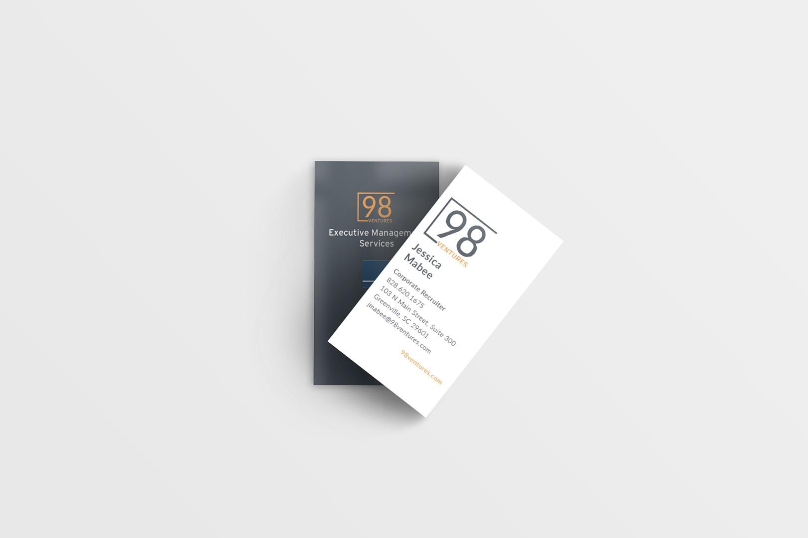 Business Card Mockup 98V 18
